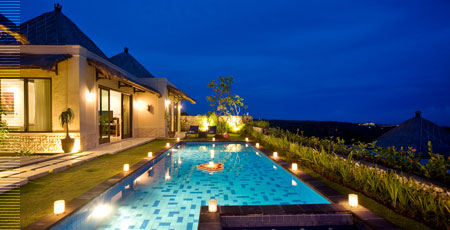 Chateau de bali ungasan luxury villas medical spa for Bali accommodation 5 star